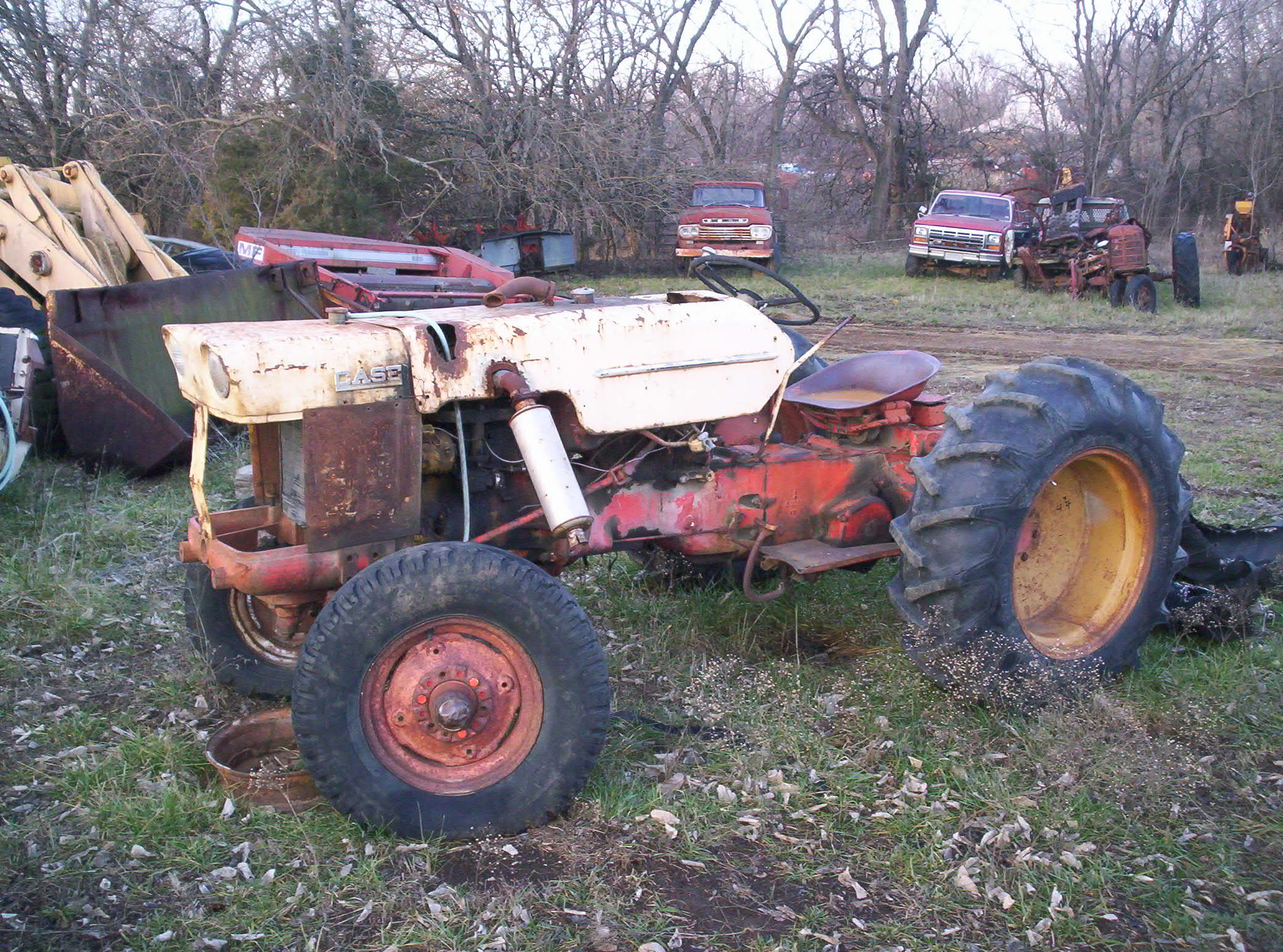Used Tractor Parts Salvage Yards : Tractor junkyard bing images