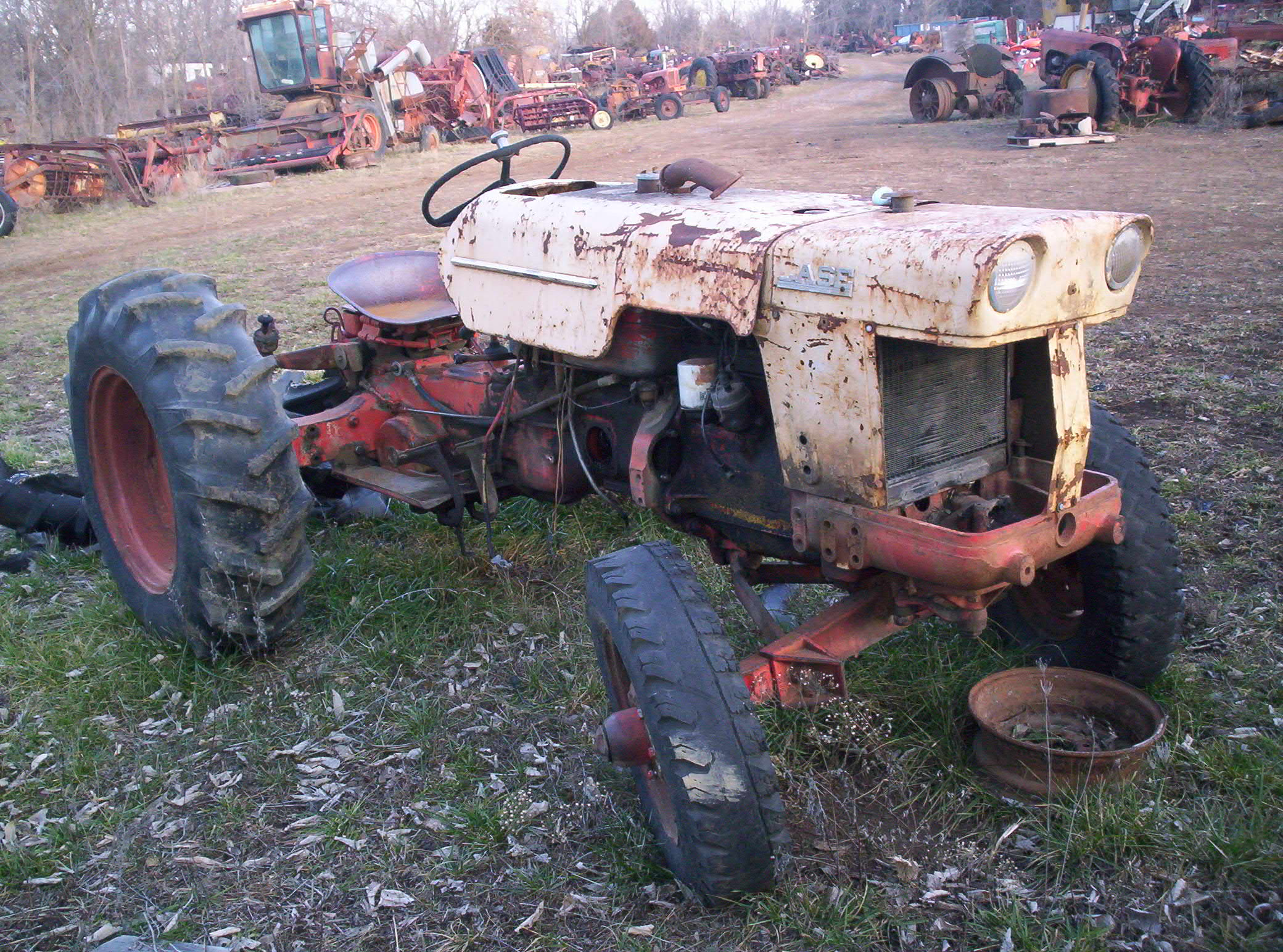 Lawn Tractor Salvage Yards : Tractor junkyard bing images