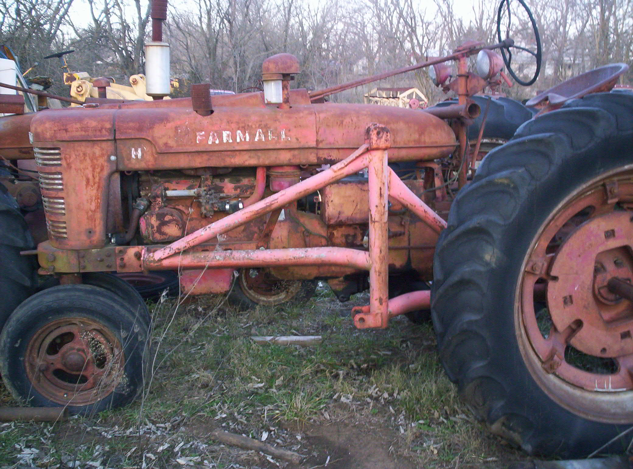 International Tractor Salvage Yard : Austin farm salvage online catalog